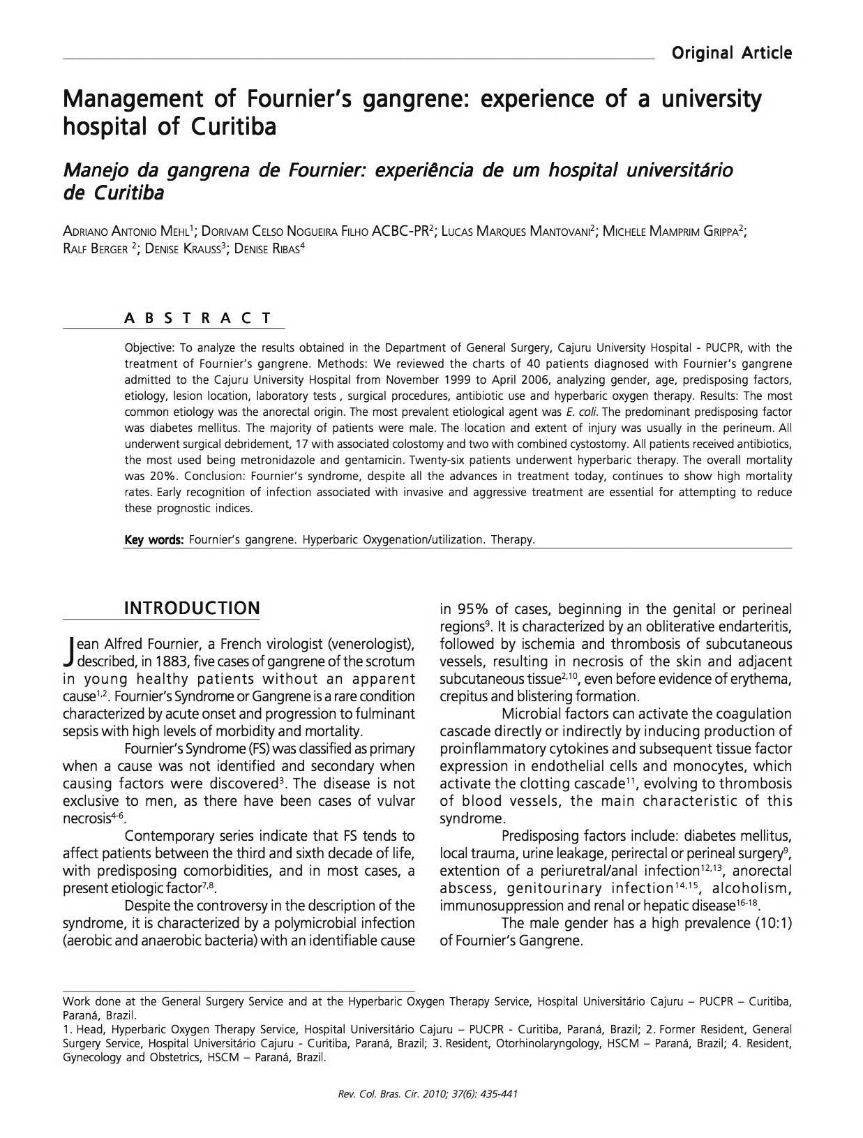 Artigo medicina